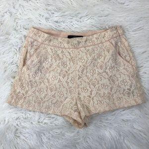 XXI Women's XS Pink Floral Shorts